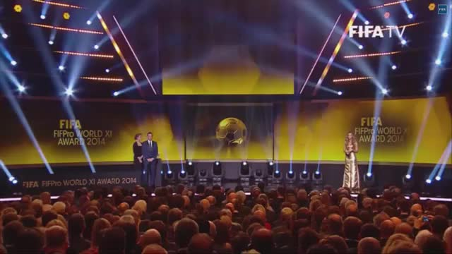 Watch The Ballon d'Or 2014 - Awards Gala (reddit) GIF by @jarik42 on Gfycat. Discover more justneuerthings, soccer GIFs on Gfycat