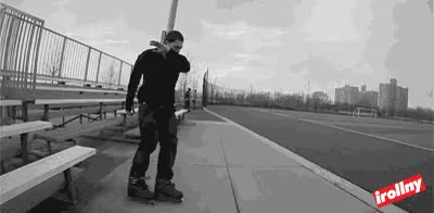 Watch and share Rollerblades GIFs on Gfycat