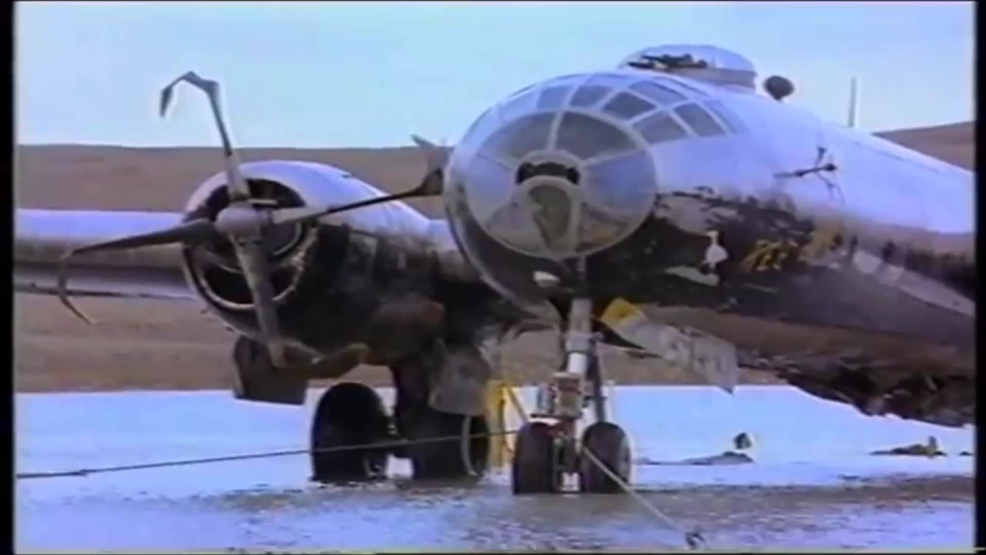 B-29 Kee Bird, Frozen in Time For 50 Years, She Was Almost Rescued GIFs