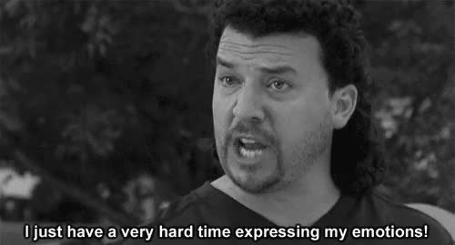 Watch and share Danny Mcbride GIFs and Feels GIFs on Gfycat