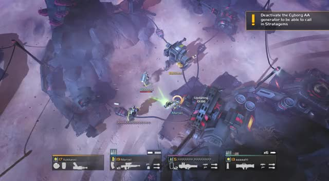 Watch Helldivers - chaotic mess GIF by CrackParrot (@crackparrot) on Gfycat. Discover more gaming, helldivers GIFs on Gfycat