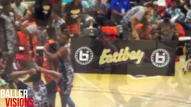Watch and share Derrick Jones DESTROYS The 2015 BallIsLife All-American Dunk Contest! (reddit) GIFs by kmarko on Gfycat
