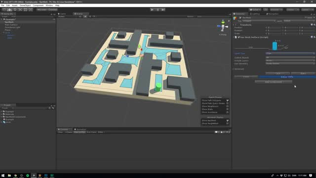 Watch Unity NavMesh Tutorial - Basics GIF on Gfycat. Discover more Artificial, Fix, Game, Mesh, NEW, Tip, Unity3d, agent, ai, basic, beginner, coding, games, how, learn, navigate, navigation, navmesh, series, tutorials GIFs on Gfycat