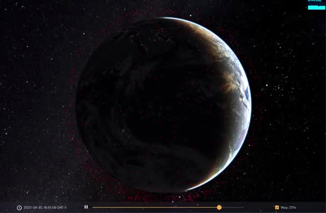 Watch and share Iridium-and-cosmos-deb GIFs on Gfycat