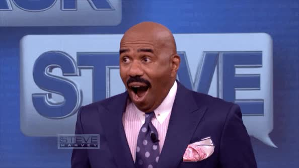 Watch and share Steve Harvey GIFs by Reactions on Gfycat