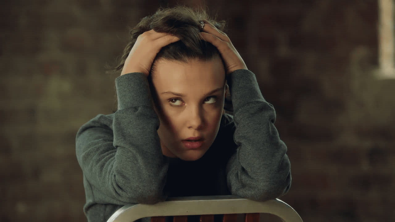 Millie Bobby Brown, annoyed, crazy, exhausted, over it, smh, Millie Bobby Brown Annoyed GIFs