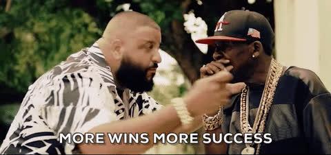 Dj Khaled, key, keys, major key, More wins more success - DJ Khaled GIFs