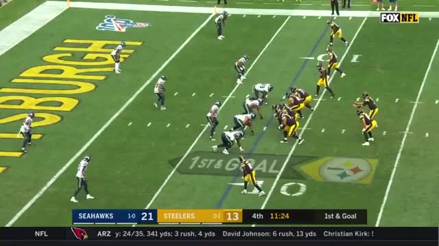 Watch and share Pittsburgh Steelers GIFs and Seattle Seahawks GIFs by Caio Miari on Gfycat