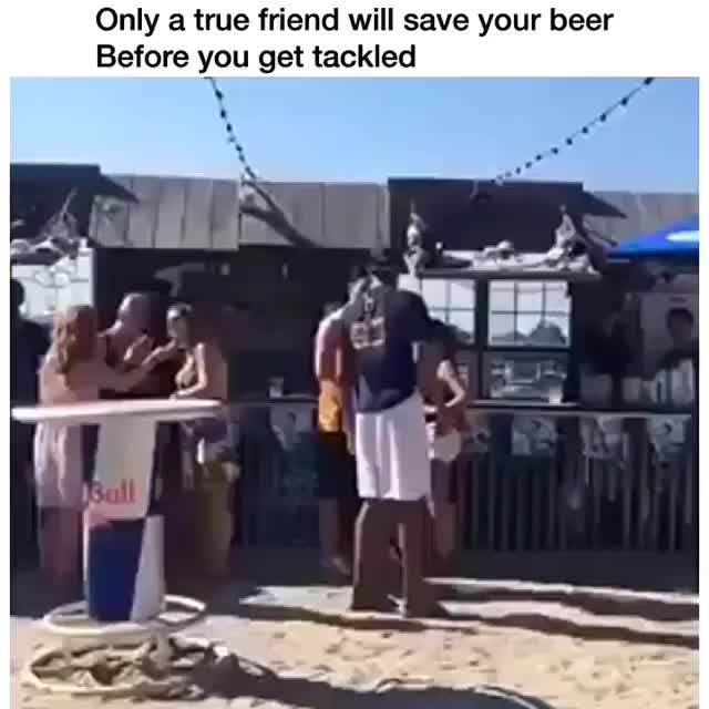 Watch this meme GIF by Media Paradise (@entfanatic) on Gfycat. Discover more beer, funny, meme, slo mo, slo-mo, slomo, slow motion, tackled, viral thread GIFs on Gfycat