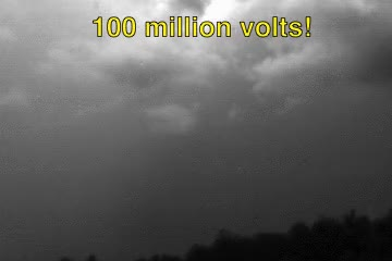 Watch and share Lightning Usually Carries Around 100 Million Volts! National Oceanic And Atmospheric Administration GIFs on Gfycat
