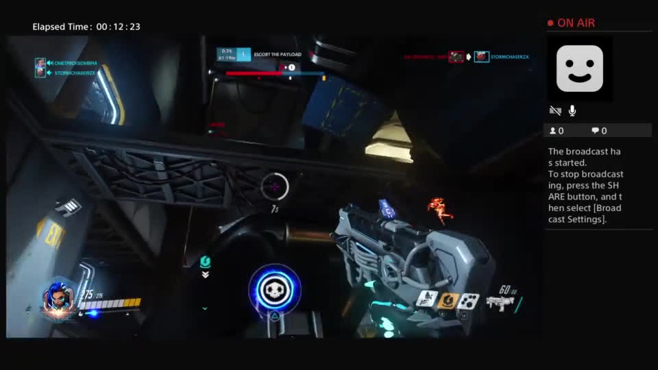 OWConsole, Overwatch, Back cap on Gibraltar with Sombra GIFs