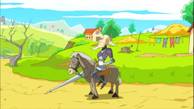 Watch and share Don Quijote   Cuentos Infantiles (ES.BedtimeStory.TV) GIFs on Gfycat