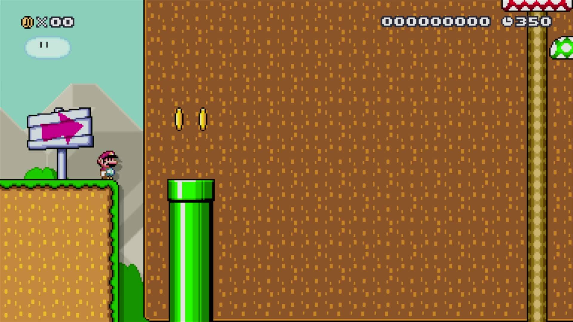 Mario, MarioMaker, SuperMarioMaker, Super Mario Maker - The Spin Jump Challenge! (Preview) GIFs