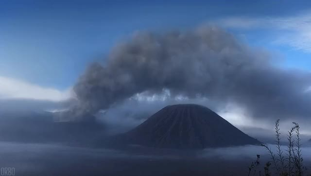 Watch The Ijen volcano complex, Java, Indonesia. GIF by @siddised on Gfycat. Discover more related GIFs on Gfycat