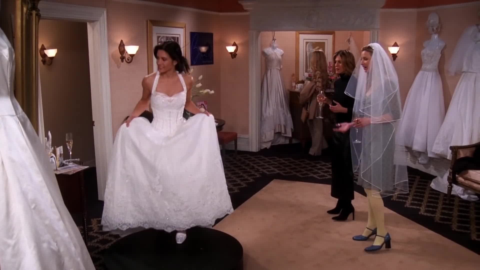 Friends The Cheap Wedding Dress Gif Find Make Share Gfycat Gifs