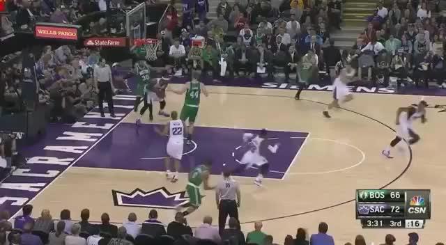 DeMarcus Cousins goes coast-to-coast to crush dunk over Jae Crowder (reddit)