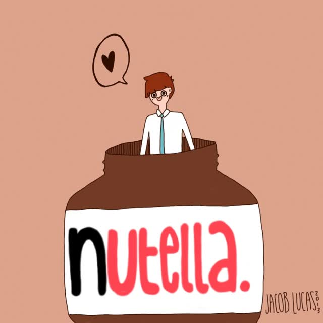 Watch and share Nutella GIF By LucasInGreen GIFs on Gfycat