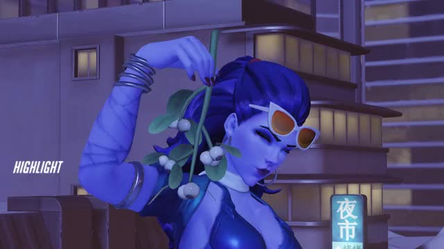Watch am GIF by @yoursadow on Gfycat. Discover more highlight, overwatch, widowmaker GIFs on Gfycat