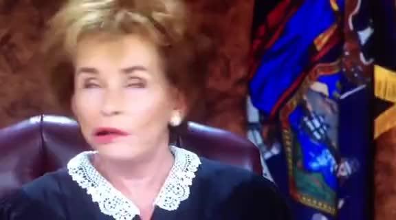 judge judy, judith sheindlin, judy sheindlin, tv court, Judge Judy left speechless by welfare mom GIFs
