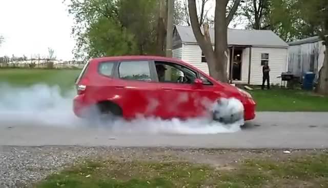 Watch and share Honda Jazz Burnout GIFs on Gfycat