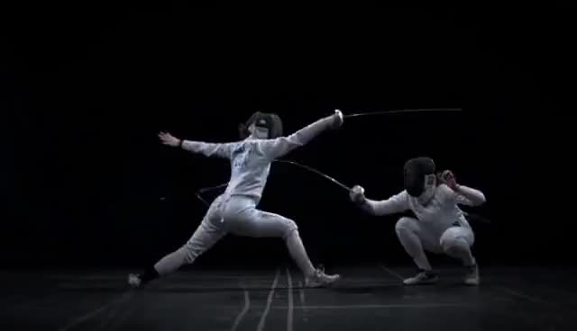 Watch and share Fencing GIFs and Sports GIFs on Gfycat