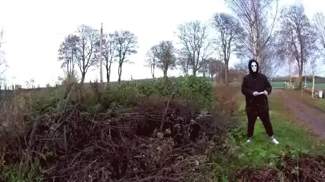 Watch and share I'll Just Light This Flare Next To This Pile Of Wood, My Mask Will Save Me (reddit) GIFs by markovmaniac on Gfycat