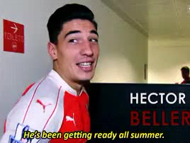 Watch I played tree, moon, and sun fantastically. GIF on Gfycat. Discover more Héctor Bellerín, afcedit, arsenal, he's dead serious though also, hector bellerin, i think hector said they'll be timed again the 20th???, i think they usually do one in august so, my gif, should be fun, theo is such a goofball look at his face in the last one, theo walcott GIFs on Gfycat