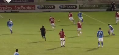 Watch and share Stjohnstone GIFs and Football GIFs by Emmett on Gfycat