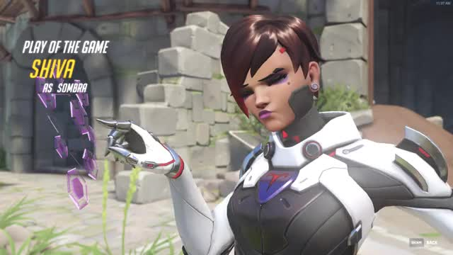 Watch and share Overwatch GIFs and Sombra GIFs on Gfycat