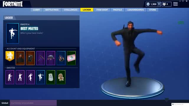 Watch and share Best Mates- Fortnite Emote GIFs on Gfycat