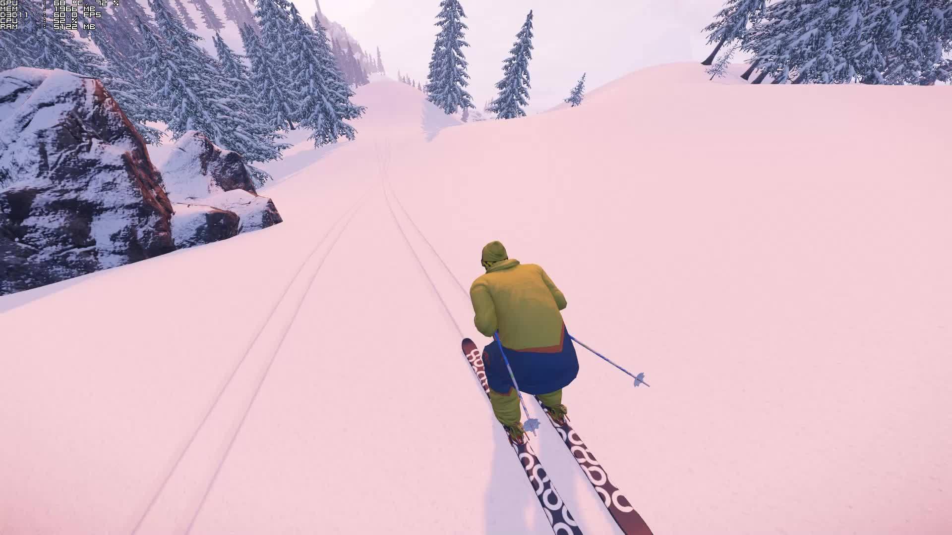 SnowTheGame, snowthegame, That landing felt so good GIFs