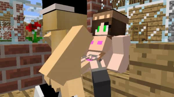 Watch 2377304 Mine Imator Minecraft Animated Gif On Gfycat Discover More Related Gifs