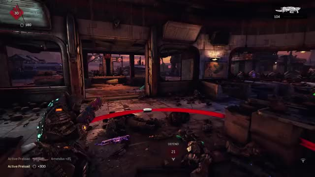 Watch and share Gears Of War GIFs and Xboxone GIFs by deathday on Gfycat