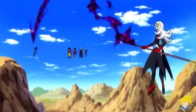 Watch and share Dragon Ball Heroes:  Opening - Super Saiyan 4 Gohan【FULL HD】 GIFs on Gfycat
