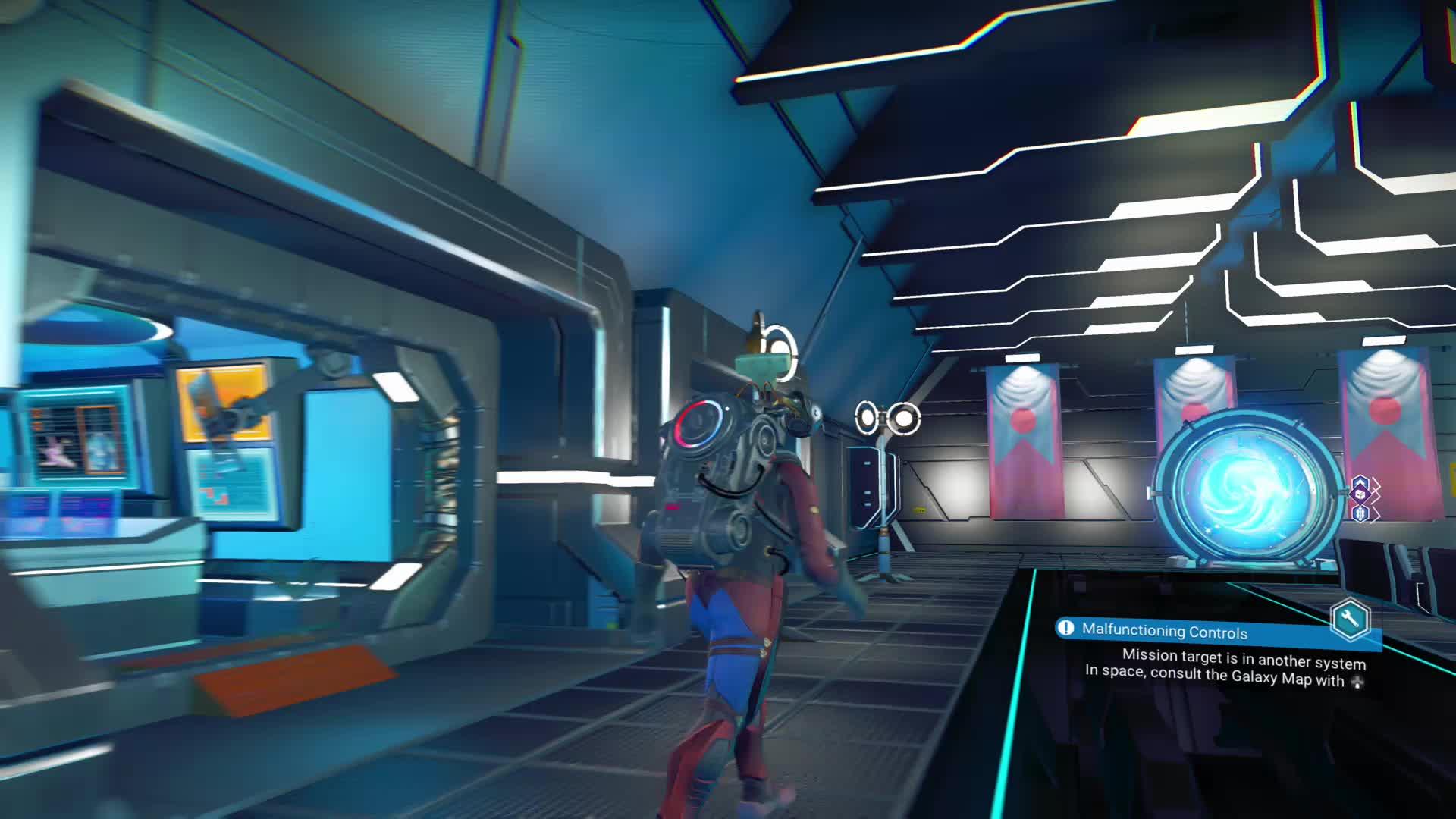 glitch, portal, space, station, [NMS:N] That was weird GIFs