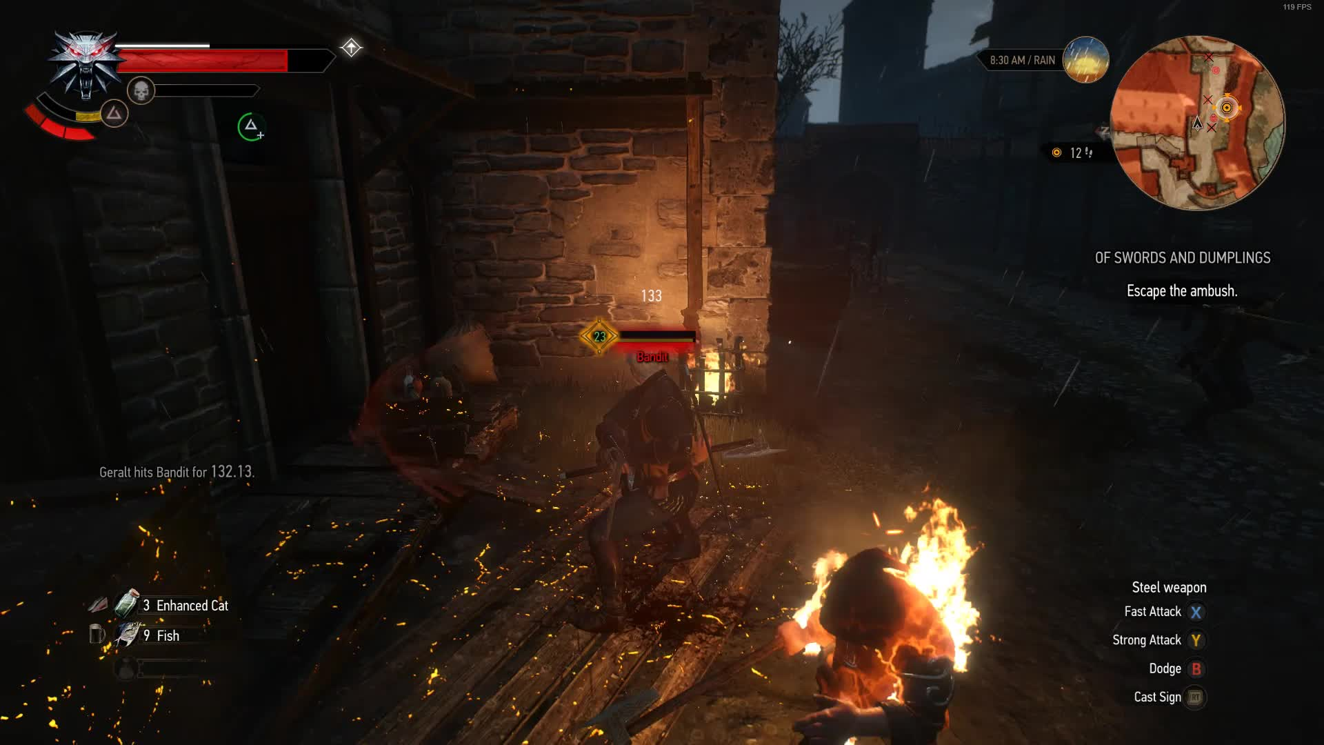 funny, gaming, witcher, withcer3, Witcher 3- Ragdoll Jump GIFs