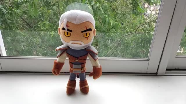 Watch Geralt (The Witcher) Handmade Plush Toy GIF by G4SKY.net (@g4sky.net) on Gfycat. Discover more G4SKY, Geralt, Plush, Witcher, geralt plush, geralt toy, the witcher, the witcher 2, the witcher 3, the witcher 3 geralt, toy, witcher 3, witcher 3 geralt, Ведьмак, Геральт, Мягкая игрушка, ведьмак 3, ведьмак 3 игрушка, геральт игрушка, игрушка GIFs on Gfycat
