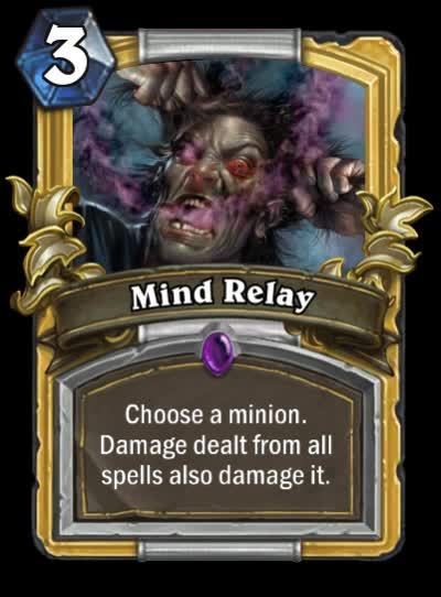 customhearthstone, Mind Relay GIFs