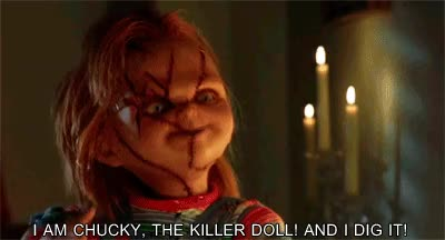 Watch and share Chucky Doll GIFs on Gfycat