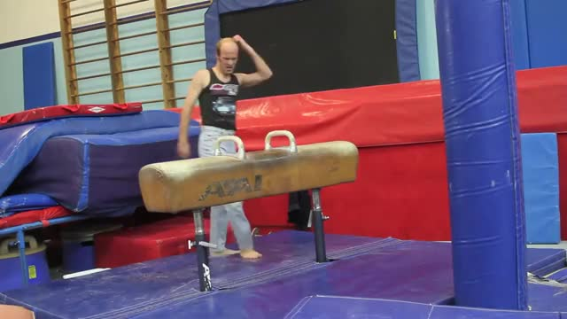 Watch and share Keith Apicary Gymnastics Fail GIFs by ace22286 on Gfycat