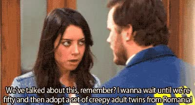 Watch and share Aubrey Plaza GIFs on Gfycat