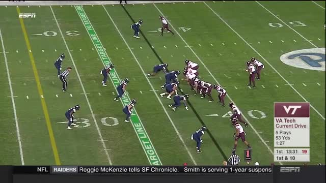 Watch 2016 Virginia Tech @ Pittsburgh GIF on Gfycat. Discover more hokie tapes, hokietapes, virginia tech GIFs on Gfycat