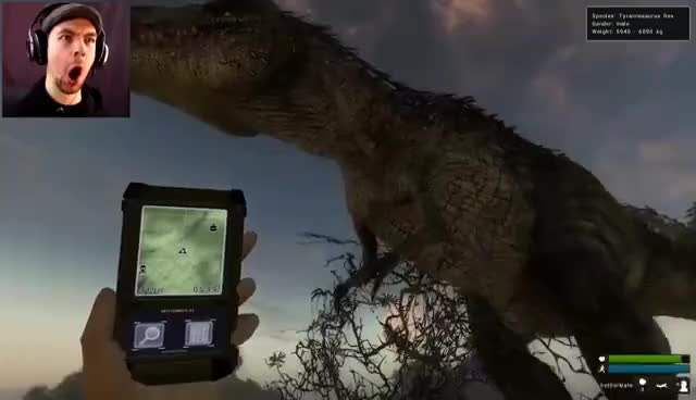 Watch SCUMBAG DINOSAURS! | The Hunter Primal #3 GIF on Gfycat. Discover more related GIFs on Gfycat