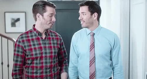 Watch and share Property Brothers GIFs and Jonathan Scott GIFs on Gfycat