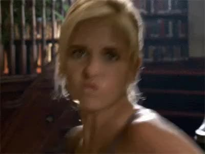 Watch punching GIF on Gfycat. Discover more sarah michelle gellar GIFs on Gfycat