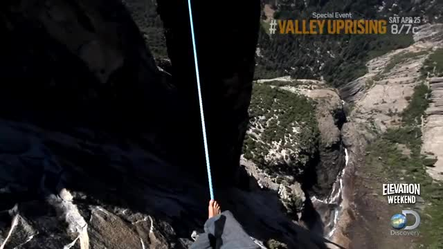Watch Walking a high-wire in Yosemite with no harness when... (reddit) GIF on Gfycat. Discover more sweatypalms GIFs on Gfycat