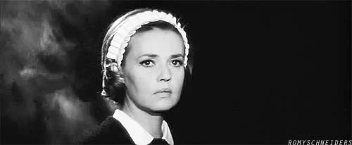 Watch this GIF on Gfycat. Discover more Diary of a Chambermaid, Jeanne Moreau, Le journal d'une femme de chambre, my gif GIFs on Gfycat