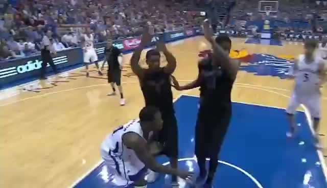 Withey vs. Kansas State GIFs