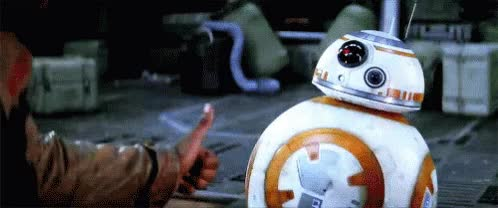 Watch and share Bb8 Starwars GIFs on Gfycat