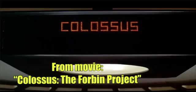 """Watch From movie: """"Colossus: The Forbin Project"""" GIF by @netsi1964 on Gfycat. Discover more A new language!, AI, Artifical Intelligense, Colossus: The Forbin Project, DL, Deep learning, GIF Brewery, ML, machine learning GIFs on Gfycat"""
